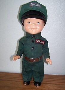sinclair oil co 13 station attendant adv doll for lion uniform