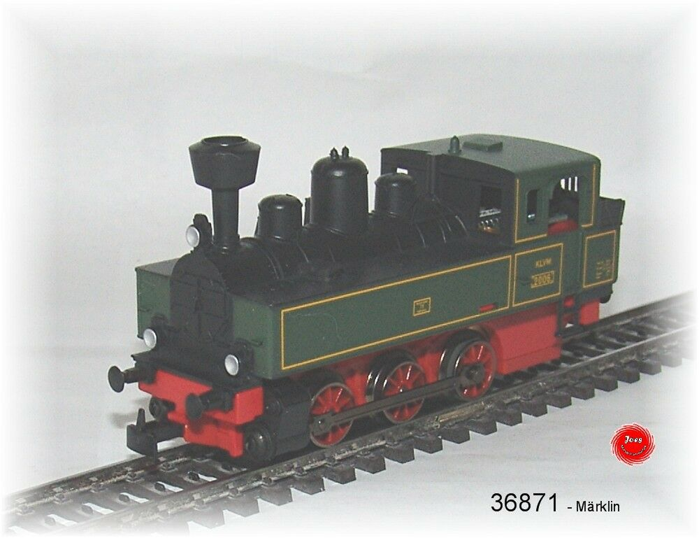 36871 LOCOMOTIVA TENDER länderbahn-bauart CON DECODER DIGITALE TERRESTRE