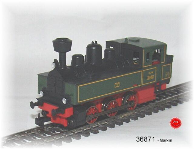 Märklin 36871 LOCOMOTIVE-TENDER länderbahn avec décodeur numérique #