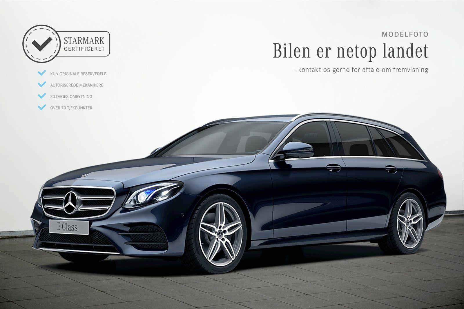 Mercedes E300 d 2,0 AMG Line stc. aut. 5d - 689.900 kr.