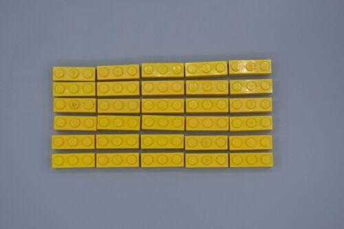 LEGO 30 x Basisstein 1x3 gelb yellow basic brick 3622 362224
