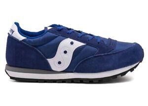 Saucony-Jazz-SY55996-Blu-Sneakers-Donna-Bambini-Scarpa-Casual-Sportiva