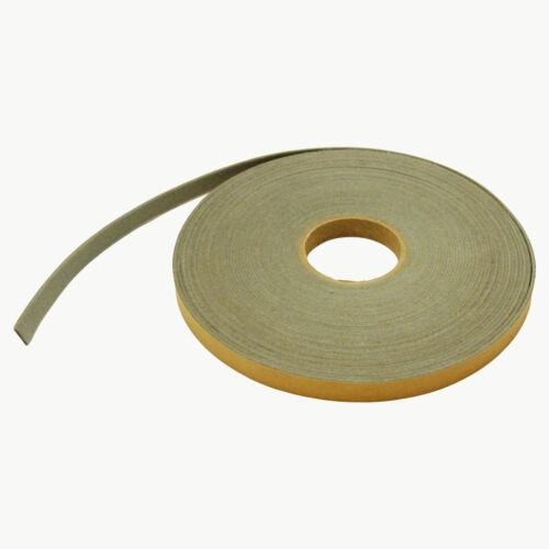 3//4 in JVCC FELT-08 Polyester Felt Tape Light Grey x 75 ft.