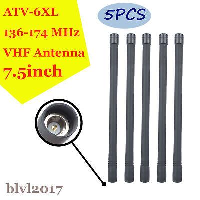 VHF Antenna for Vertex VX350 VX351 VX354 VX400 VX410 VX414 VX417 Portable Radio