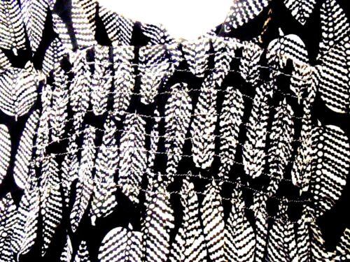 SIESTA FAIR TRADE BLUE OR BLACK LEAF FESTIVAL HIPPIE SUMMER DRESS 10 12 14 16
