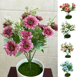 Am-ALS-Artificial-Flower-Silk-Daisy-Fake-Plants-Wedding-Bouquet-Home-Party-Dec