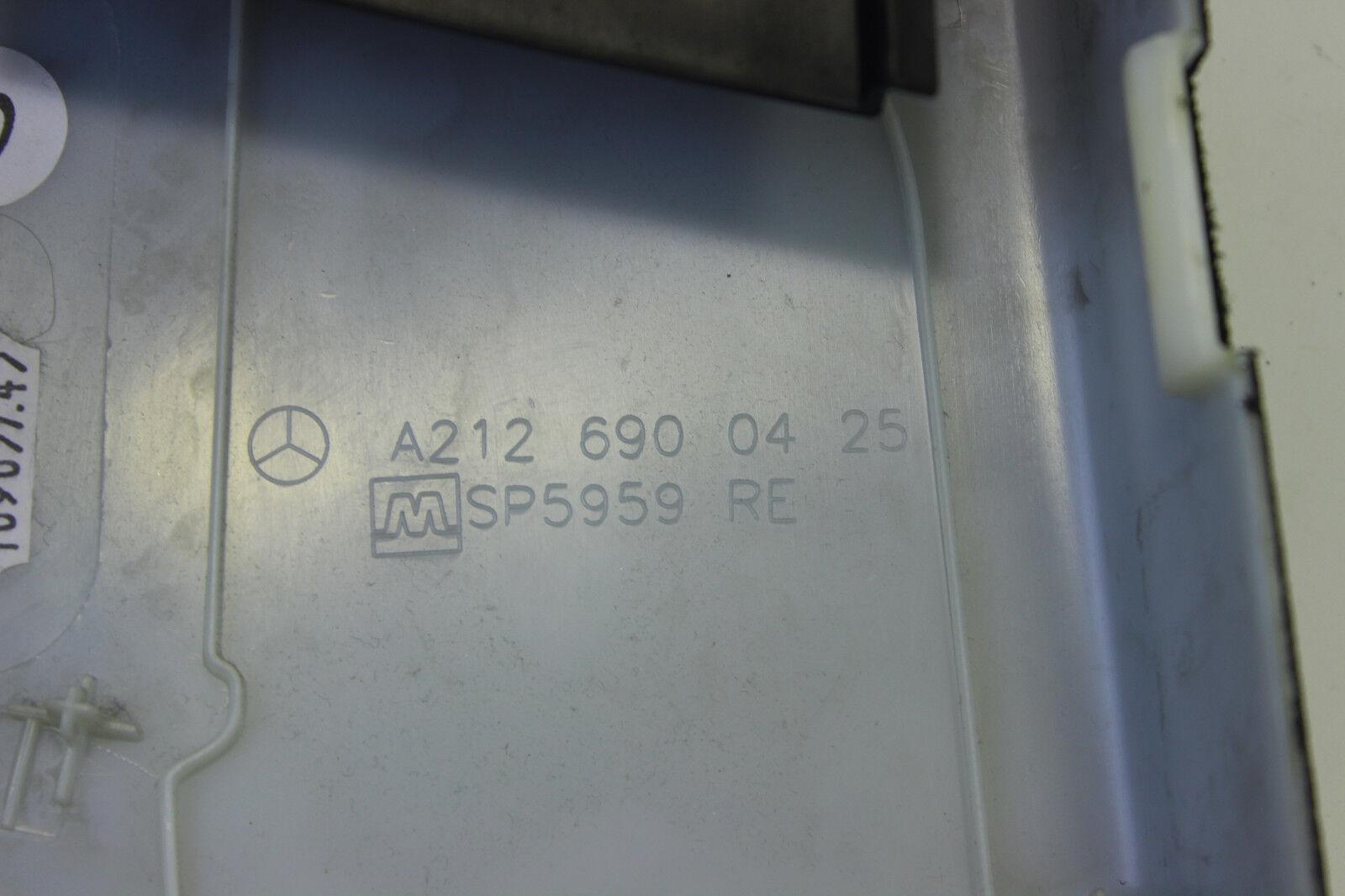 MERCEDES E KLASSE W212 S212 B SÄULE RECHTS VERKLEIDUNG ABDECKUNG A2126902026
