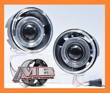 05-09 Chrysler 300C Halo Projector Fog Lights Clear Front Bumper Lamps PAIR