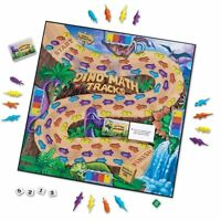 Learning Resources Dino Math Tracks Game , New, Free Shipping on sale