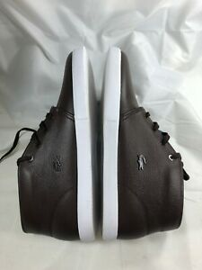 LACOSTE-Mens-Timeless-Fashion-ASPARTA-119-Brown-Leather-Sneakers-Shoes-Casual