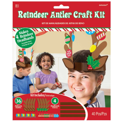 Christmas Craft activity fun Antler Making Kit