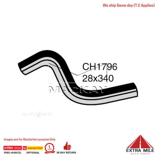 CH1796 Radiator Upper Hose For Ford Laser KJ 1.8L I4 Petrol Manual /& Auto Mackay