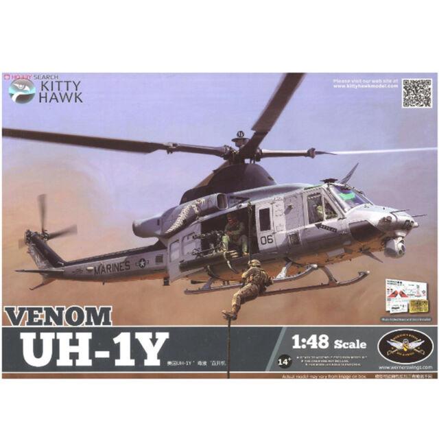 Kitty Hawk KH80124 1/48 Venom UH-1Y Airplanes