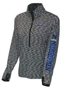 Navy-Midshipmen-Long-Sleeve-Athletic-Womens-2XL-Running-Shirt-Jacket-Dri-Fit-NEW