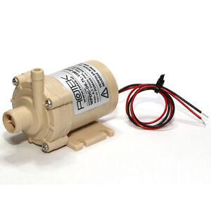Lebensmittelechte Pumpe 11,6l//min 0,5 bar 24V Wasserkühlung Dauerbetrieb Solar