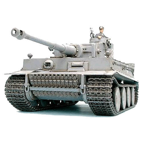 Tamiya rc 56010 tank tiger i early full-option 1:16 assembly kit