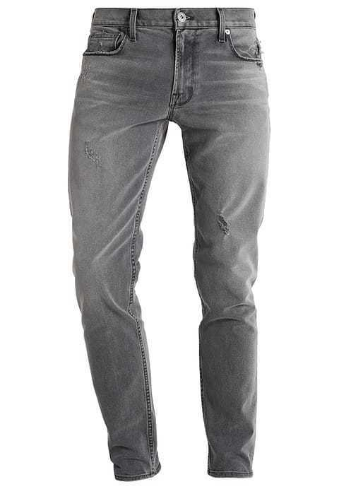 CURRENT ELLIOTT NWT  Distressed Grey Reef Slim Fit Jeans Sz 34