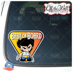 Baby-Wolverine-034-Baby-on-Board-034-Sign-Vinyl-Decal-Sticker-for-Cars-Trucks