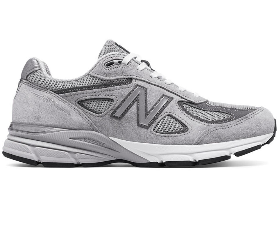 New Balance NB M990GL4 Men's 990v4 Gray Athletic Running Shoes Sneakers Footwear