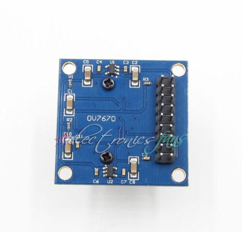 OV7670 VGA CMOS Camera Module Lens CMOS 640X480 SCCB W// I2C Interface