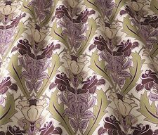 ILIV ART DECO Acanthus Berry / Erica (WILLIAM MORRIS stile) Facciata / uphol tessuto