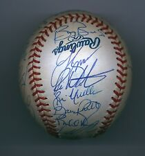 2000 S.F. Giants Autographed Team Baseball BALL 29 Autogs. w/BONDS Playoff Team