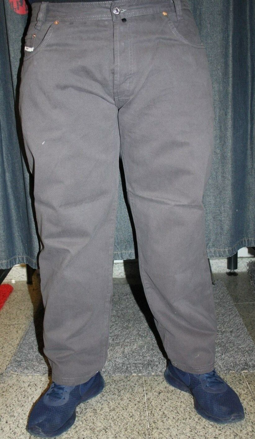 Viazoni Jeans Zicco 472 Gabardine grey Saddle- Karedtenschnitt BASIC JEANS