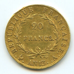 Napoleon-Ier-1804-1814-20-Francs-or-AN-13-A-Paris
