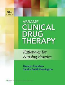 Abrams-Clinical-Drug-Therapy-Rationales-for-Nursing-Practice-by-Sandra-Smith-Pennington-and-Geralyn
