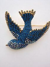 JOAN RIVERS BLUE BIRD PIN BRAND NEW