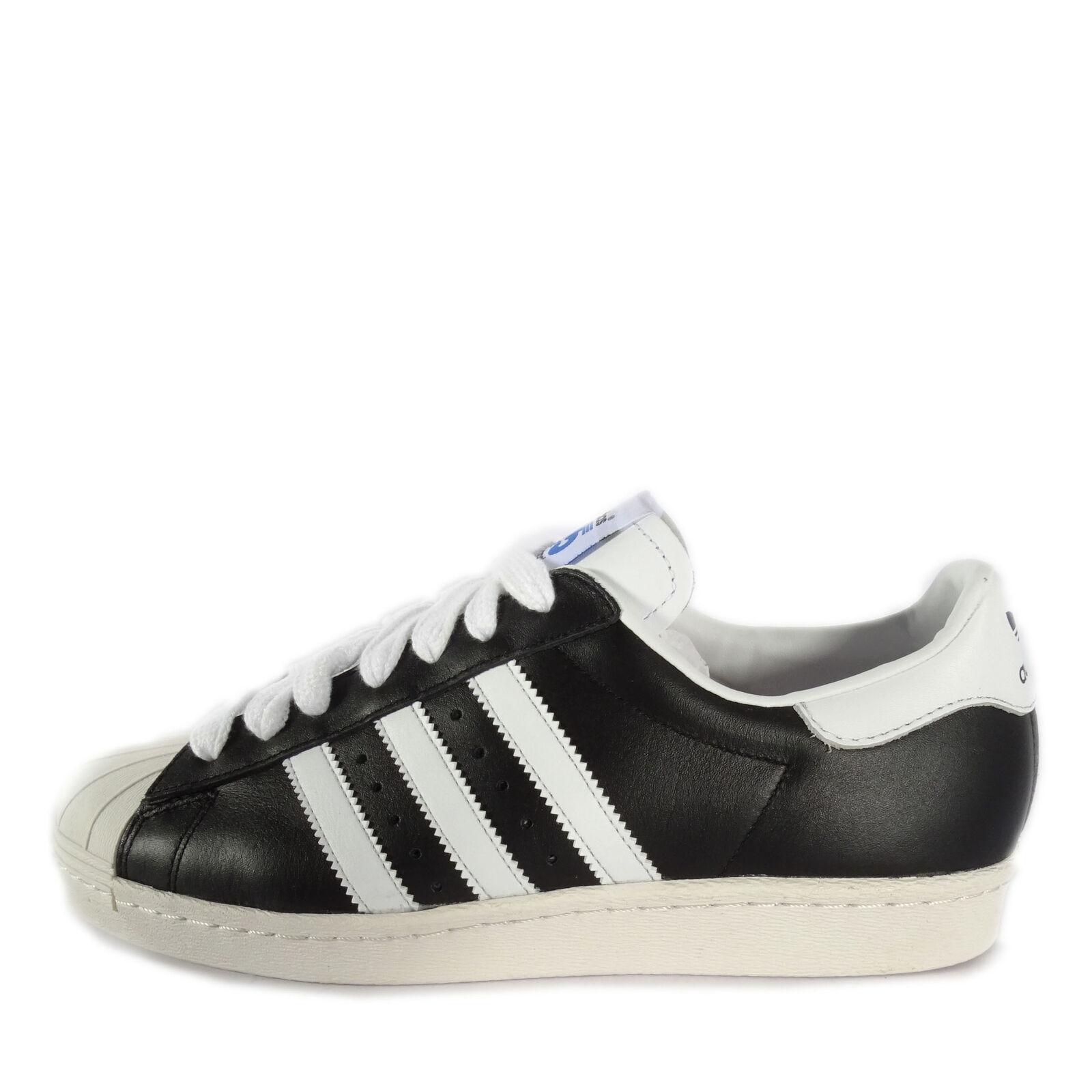 Adidas Originals Superstar 80S Nigo [M21510] Original Casual Black/White