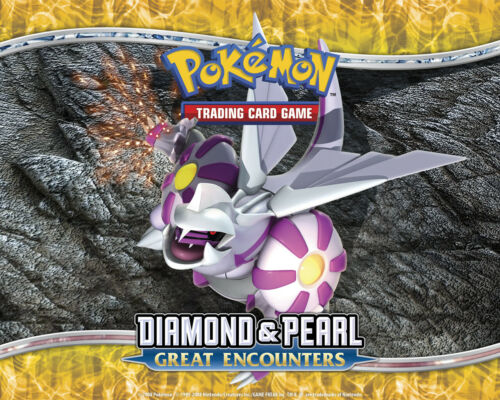 Pokemon TCG Diamond and Pearl Great Encounters Reverse Holo Uncommon Cards