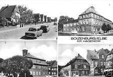 AK, Boizenburg Elbe, vier Abb., u.a. Krankenhaus, 1987