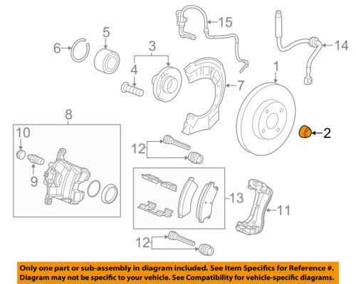 GM OEM-Axle Nut 13208672
