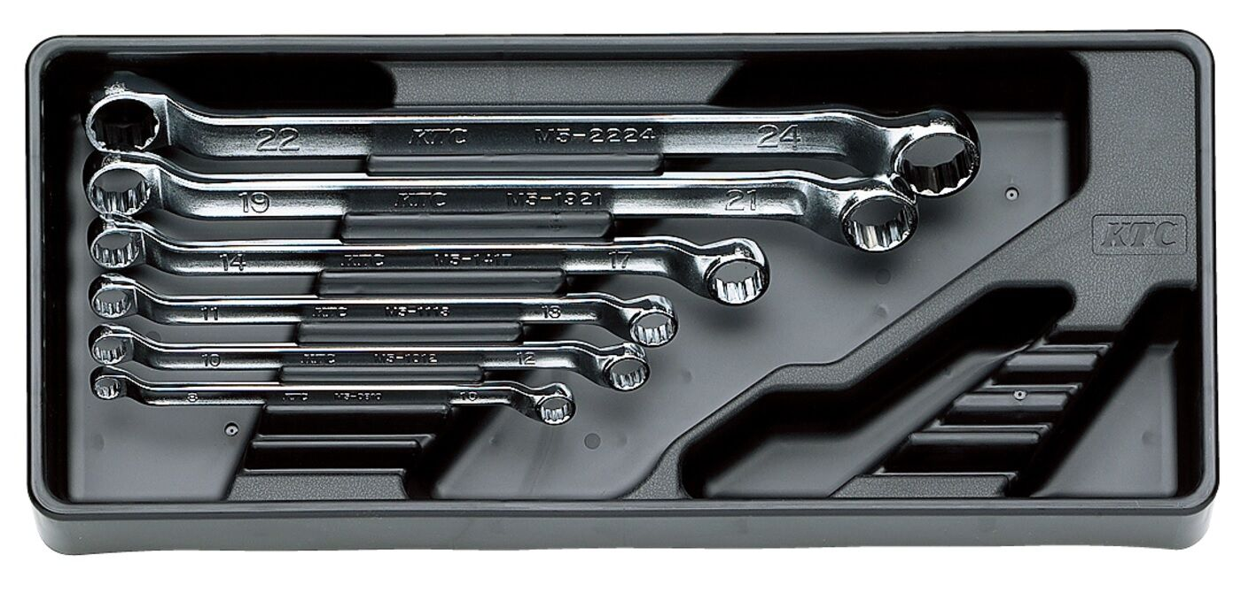 KTC / OFFSET WRENCH SET 6 PIECES / TM506 / MADE IN JAPAN