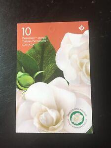 Canada-2019-Gardenia-1Booklet-of-10x0-90P-9-00