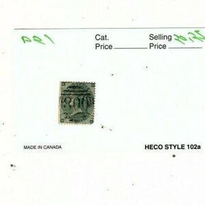 1865-Great-Britain-Queen-Victoria-One-Shilling-Stamp-mb11