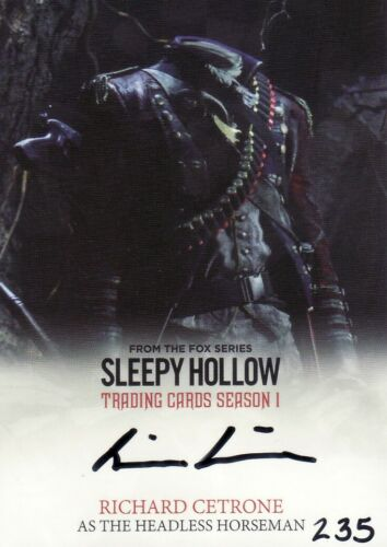 Auto Card Selection Sleepy Hollow Season 1 Autograph Verzamel En Ruilkaarten Niet Sportkaarten
