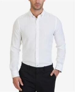 David Donahue Men/'s French Standard Cuff Long Sleeve Shirts Sz 15.5,18 Was $140