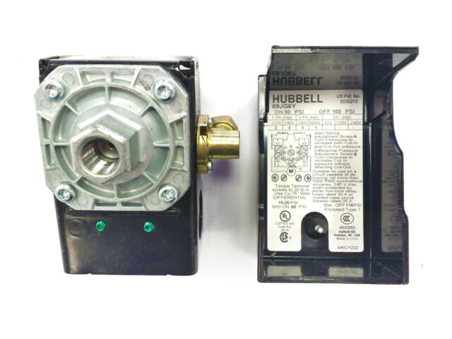 69JG6Y HUBBELL PRESSURE SWITCH