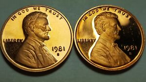 1981-S GEM BU PROOF Lincoln Memorial Type 2 US COIN
