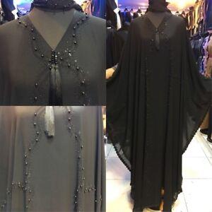 Abaya Dubai musulmano Maxi stile Jilbab Farasha Burkha di Jalabiya 4zqdSC