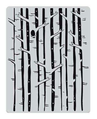 Hero Arts CG781 Bold Prints Birch Forest Background
