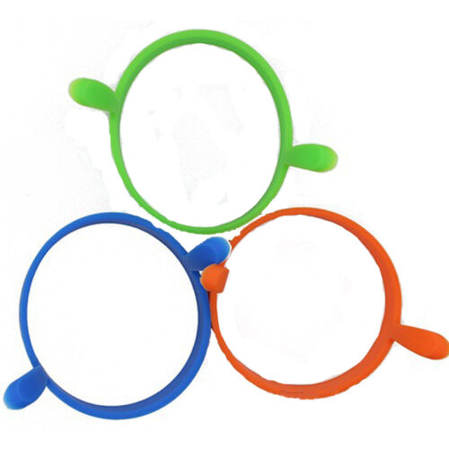 Trendy Silicone Round Rings Fried Fryer Oven Poacher Pancake Egg Non Stick Molds