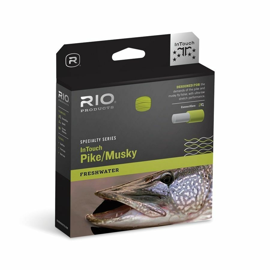NEW RIO INTOUCH IN 11WT TOUCH PIKE MUSKY WF11F/I 11WT IN INTERMEDIATE SINK TIP FLY LINE f4df1c