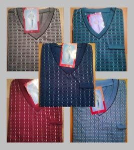 Herren Satin Schlafanzug Pyjama M L XL XXL