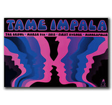 "Tame Impala Psychedelic Rock Music Band Cover 32x24/"" Poster fabric Print Art 09"