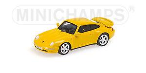 Minichamps-877069201-Porsche-911-993-Turbo-1995-1-87-Nuevo-en-Emb