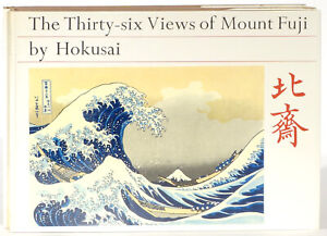 Hokusai-36-views-Mount-Fuji-Hiroshige-53-Stages-Tokaido-1966-2-volume-set