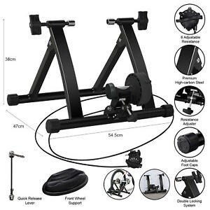 Indoor-Exercise-Bike-Trainer-Stand-Portable-Magnetic-6-Level-Resistance-Training